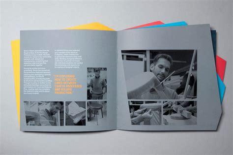 design museum leaflet design museum brochure alphabetical studio graphic