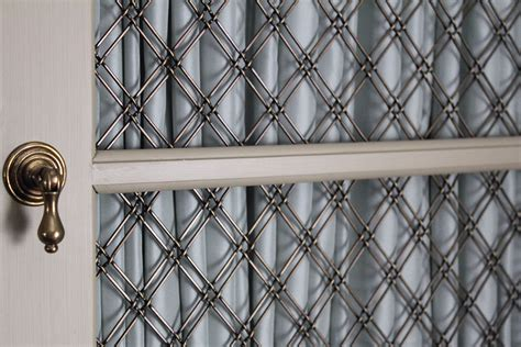 decorative wire mesh for cabinet doors wire mesh grille for cabinet doors imanisr