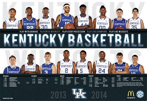 uk basketball schedule poster pick up your copy of the 2013 2013 kentucky men s