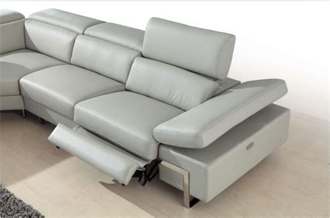 contemporary recliner sofa modern reclining sofa por the