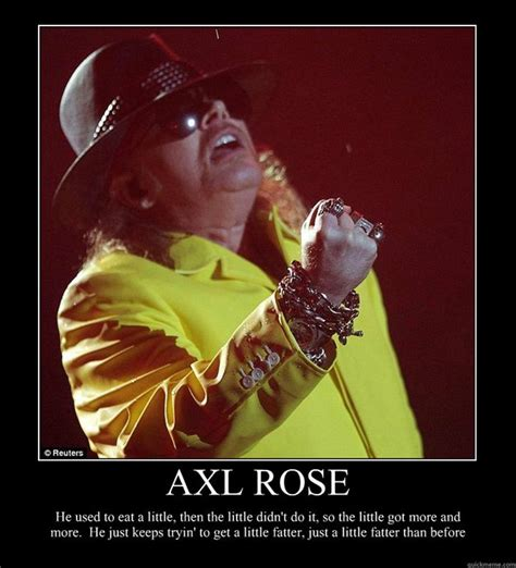 Axl Meme - could someone photoshop a picture of what all members of