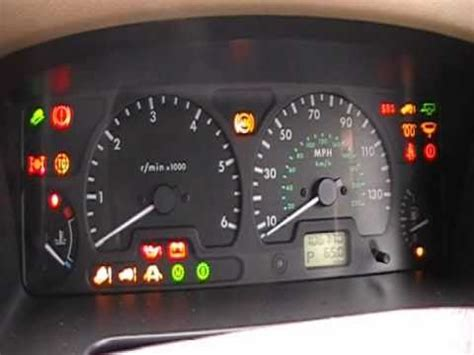 the range lights land rover discovery 2 dash warning lights