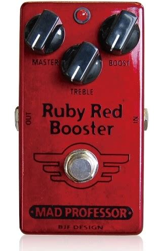 Booster X By Mad Prof mad professor ruby booster coda