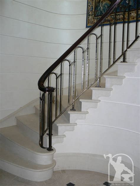 Home Interior Railings by Wrought Iron Interior Railings Photo Gallery Iron Master