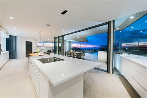 beautiful house interior view of the kitchen australian residence merges exquisite design and