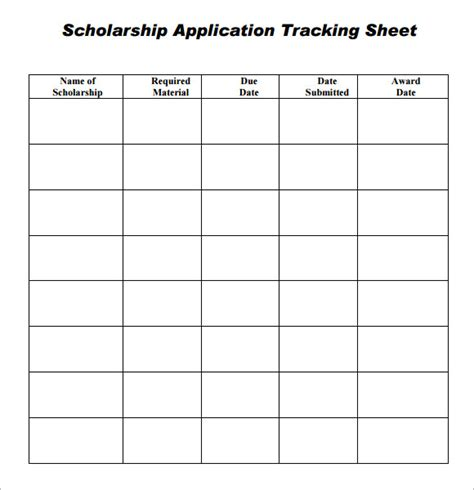 tracking sheet template tracking sheet template 7 free for pdf