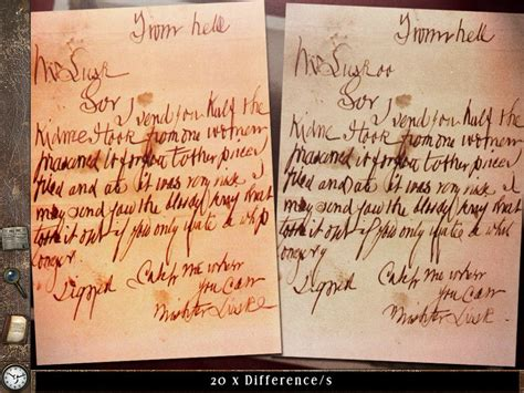 Cover Letters From Hell the ripper letters from hell screenshots for mobygames