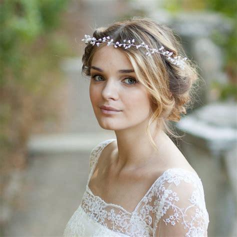 Haare Braut by Schleierkraut Haar Rebe Perle Braut Haar Rebe Hochzeit Haar