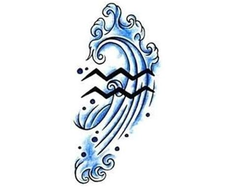 aquarius symbols tattoo designs cool aquarius symbols www pixshark images