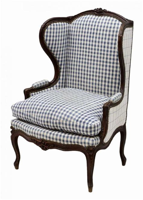 french wingback chair french louis xv style oak wing back arm chair on cabriole