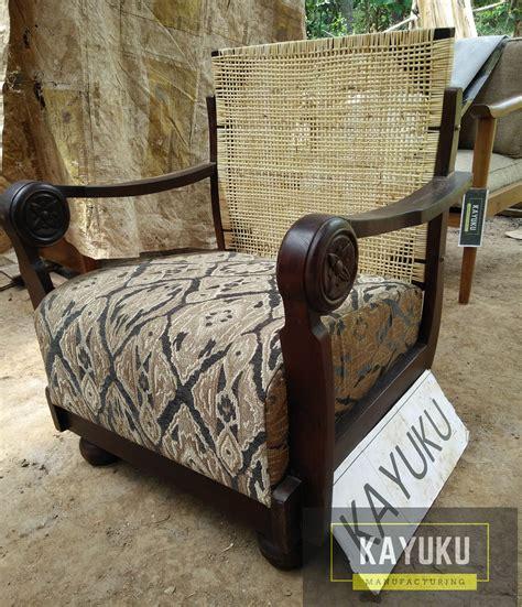 Kursi Kayu Rotan kursi kayu kombinasi rotan minimalis mebel jepara