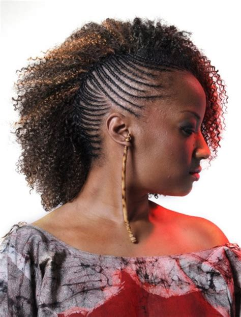 the half braided hairstyles in africa african american french braid updo hairstyles