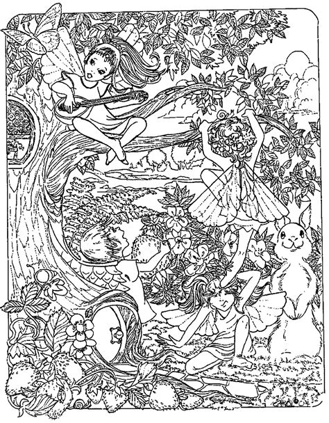coloring pages for adults unique fantasy fantasy child elves myths legends coloring pages for