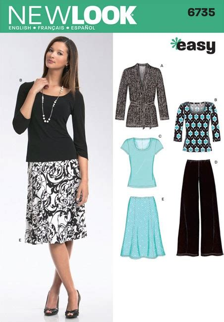 Misses Knit Cardigan Tops Trousers And Skirt New Look
