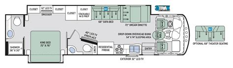 class a motorhome floor plans thor class a motorhomes rv models specifications