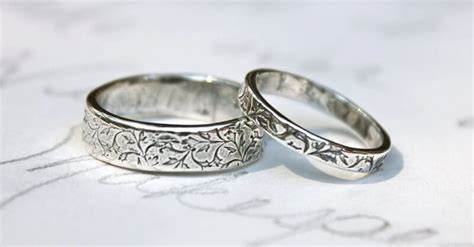 western wedding rings sets unique navokal