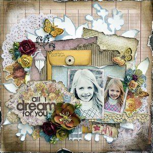 Stiker Kompor Shabby all i for you scrapbooking layout