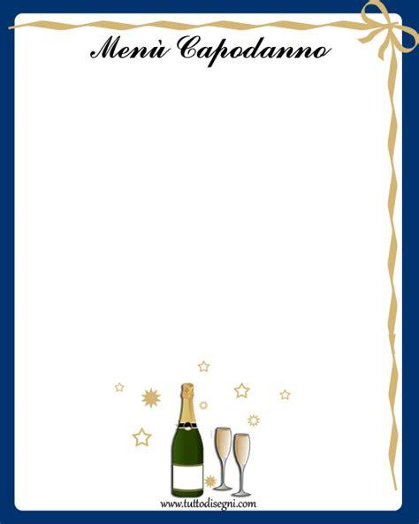 cornici per menu 249 di capodanno da stare tuttodisegni
