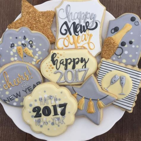 new year cookies 2017 best 25 new years 2017 ideas on new years