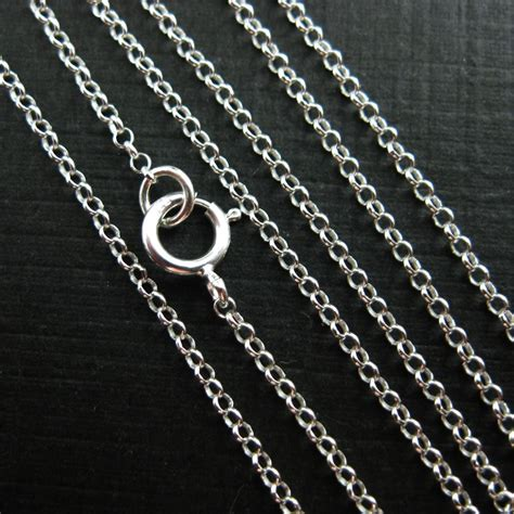 chains for jewelry wholesale wholesale sterling silver tiny rolo chain wholesale bulk