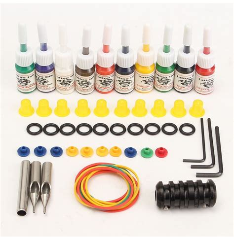 professional tattoo supplies professional machine kits with high lcd power