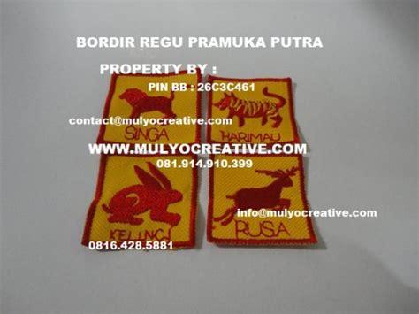 Tanda Regu Pramuka Bordir Termurah lencana pramuka perlengkapan pramuka tanda tanda pramuka atribut pramuka pesan name
