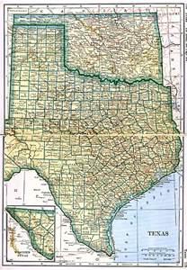 oklahoma border map and oklahoma