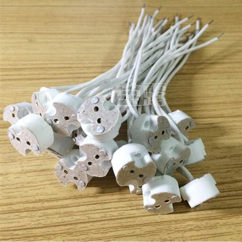 g4 l holder base led l socket holder base halogen with wire miniature bi