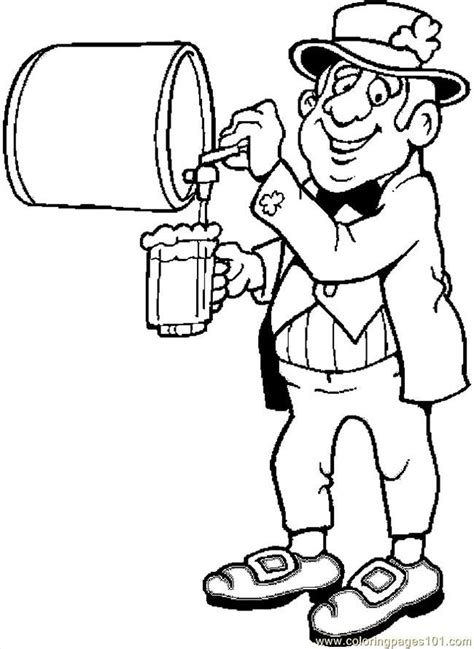 beer coloring pages coloring home