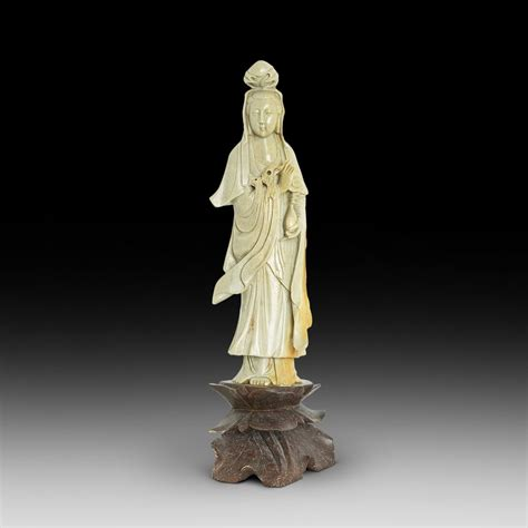 antiques atlas chinese soapstone statue