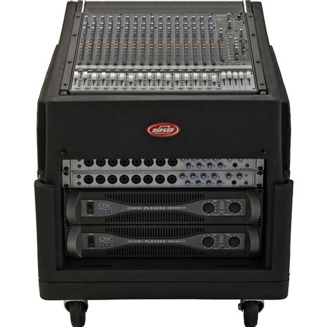 Mixer Rack by Skb Cases 1skb19 R1406 The Mighty Gigrig Rolling Mixer