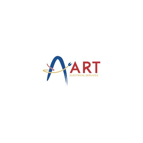 design a logo with my name elegant serious logo design for art electrical services