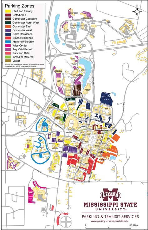 state parking map maps parking transit services mississippi state