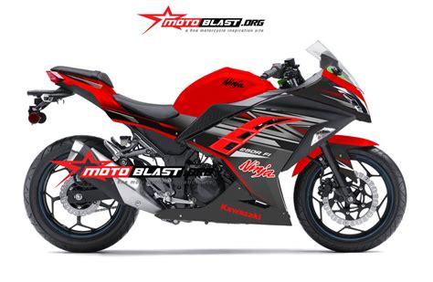 Striping Rr 250 Mono 2016 Merah modifikasi kawasaki 250r fi motoblast