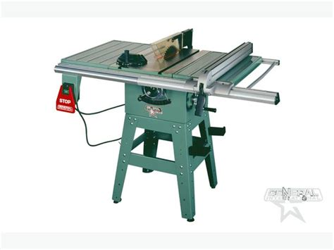 general 10 quot deluxe builders table saw west shore langford