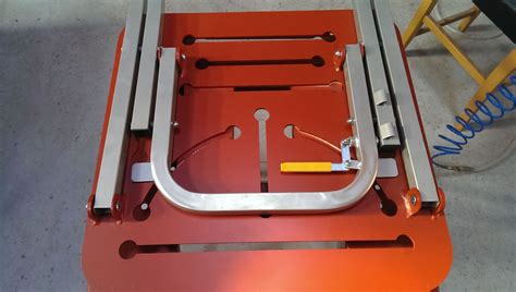 welded bench welding bench 1000 x 580 x 6 laser cut collect