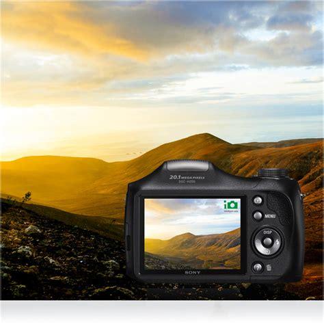 Kamera Sony Cybershot Dsc H200 sony dsc h200 digitalkamera 3 zoll schwarz de kamera