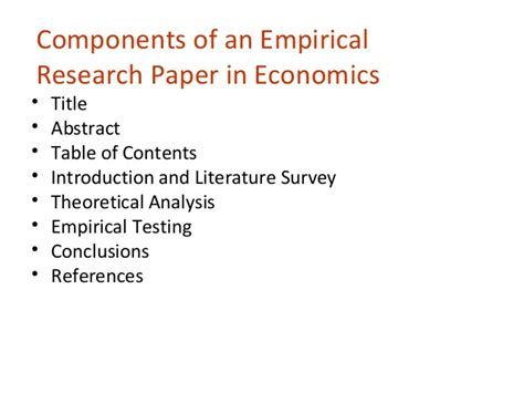 empirical research papers empirical research paper format writefiction581 web fc2