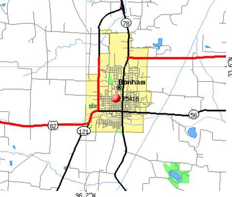 map of bonham texas 75418 zip code bonham texas profile homes apartments schools population income