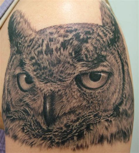 infamous tattoo company tattoos animal owl tattoo