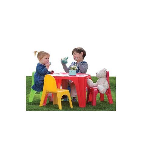 Tavolino Con Sedia Per Bambini by Tavolino Con Sedie 4 Amici Per Bambini Sport1 Giochi Da