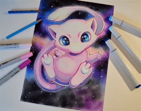 Mew Giveaway 2017 - mew by lighane on deviantart