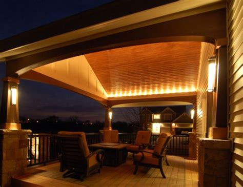 Patio Deck Lighting Ideas Lighting Ideas For Outdoor Gardens Terraces And Porches