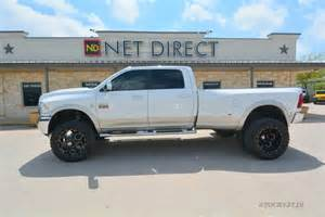 Lifted Dodge Dually Trucks Dodge Ram 3500 Laramie Crew Cab Dually Lifted 4x4 Truck Ebay