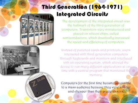 integrated circuits history of computer third generation 1964 1971 integrated circuits 28 images microprocessor systems generations