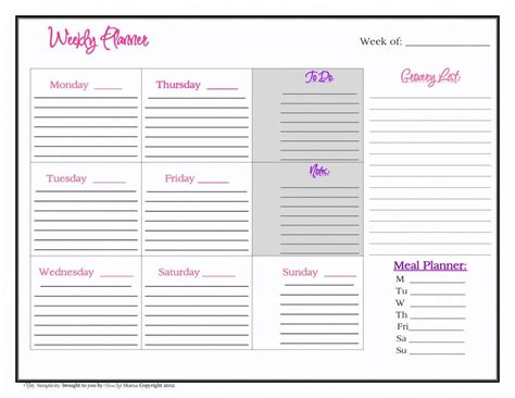 Wedding Planing Lists Sinhala Images by Printable Monthly Planner Calendar 2015 Page 2 New