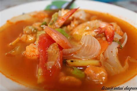 intai dapur tomyam udang ala thai