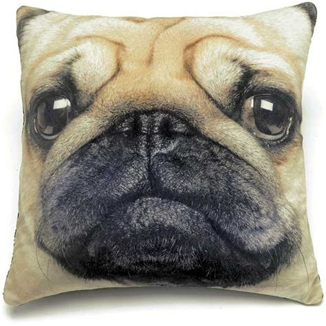 pug pillow catseye pug cushion jellyexpress co uk