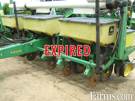 Jd Planters For Sale by Deere 7240 Planter For Sale Farms