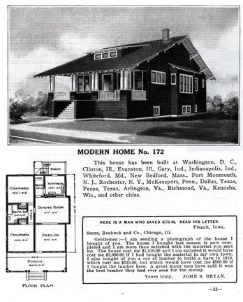 1915 craftsman foursquare home plans popular house plans